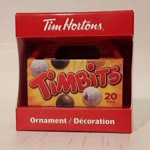 2014 Tim Hortons Ornament Timbits Box New in Box